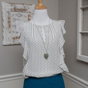 J Crew Silk Blouse, 0